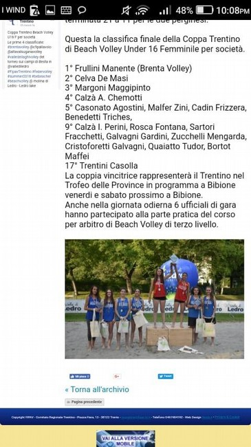 Anteprima foto CLASSIFICA FINALE