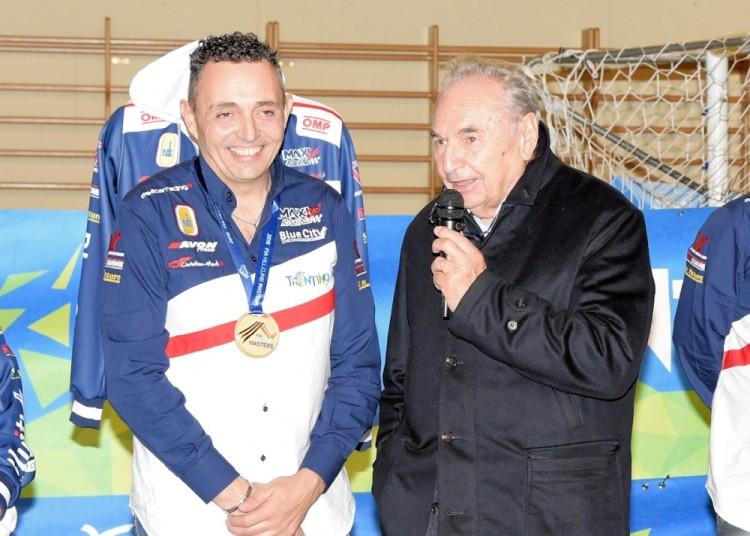 Anteprima foto Christian con Enzo Osella