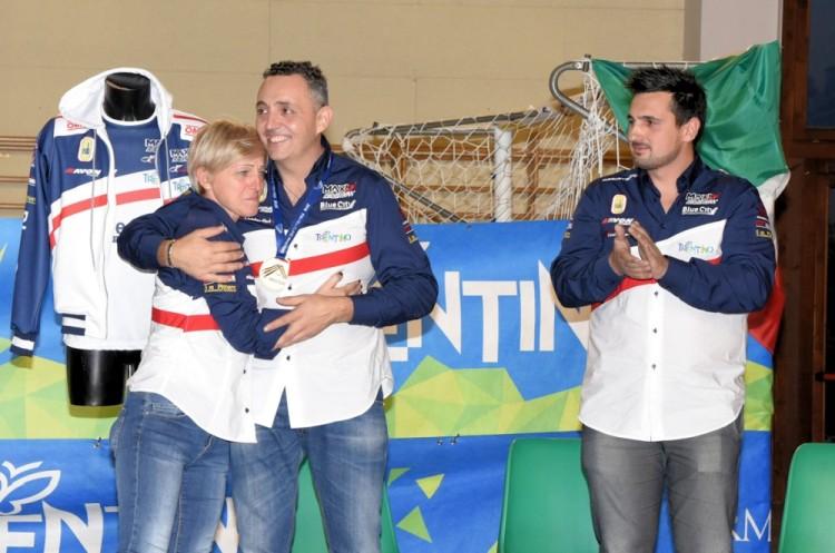 Anteprima foto Christian con Cinzia e Giuliano