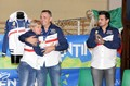 Christian con Cinzia e Giuliano