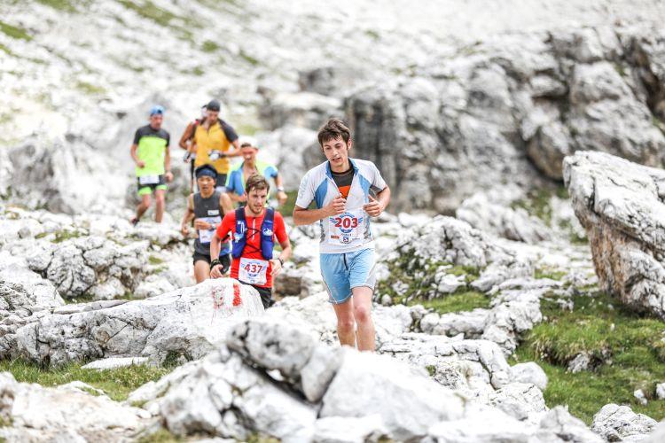 Anteprima foto Concorrenti impegnati in Val Lasties