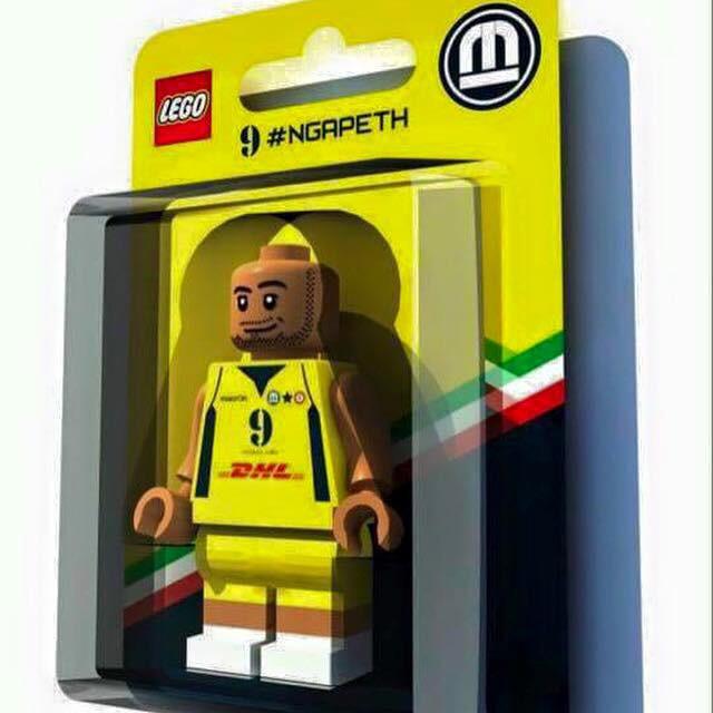 Anteprima foto Lego figura Ngapeth