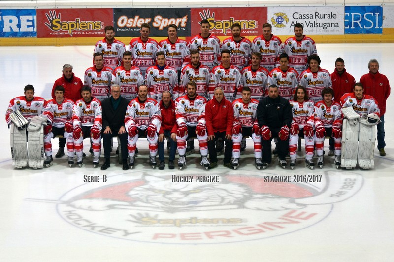Anteprima foto Hockey Pergine stagione 2016 2017 serie B