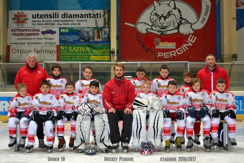 Anteprima foto Hockey Pergine stagione 2016 2017 U10