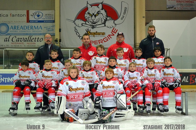 Anteprima foto Hockey Pergine Under 9 stag.2017 2018 copia
