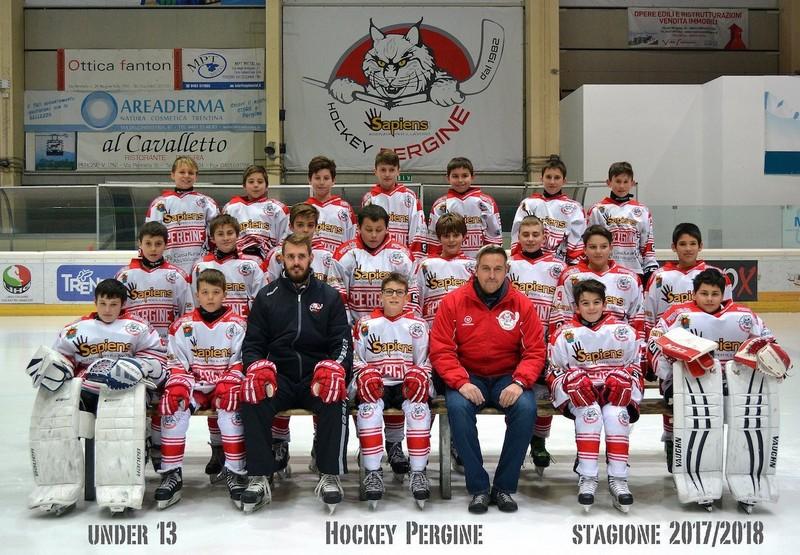 Anteprima foto Hockey Pergine Under13 stag.2017 2018piccola