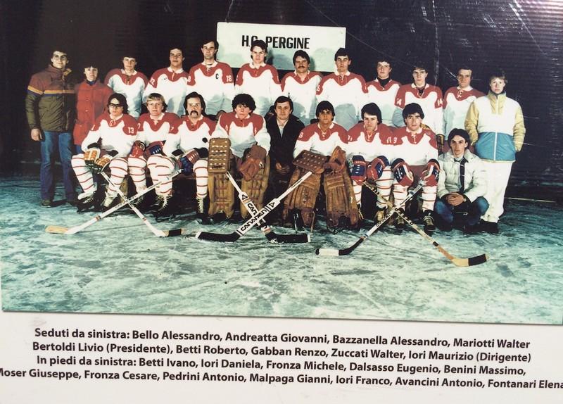 Anteprima foto Hockey Pergine stag. 1982 1983 2