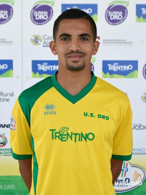 Monir Ettahiri con la maglia gialloverde