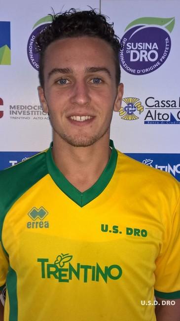 Samuele Farimbella, centrocampista gialloverde