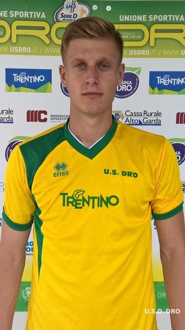 Ivo Molnar, difensore gialloverde, tra i migliori ieri