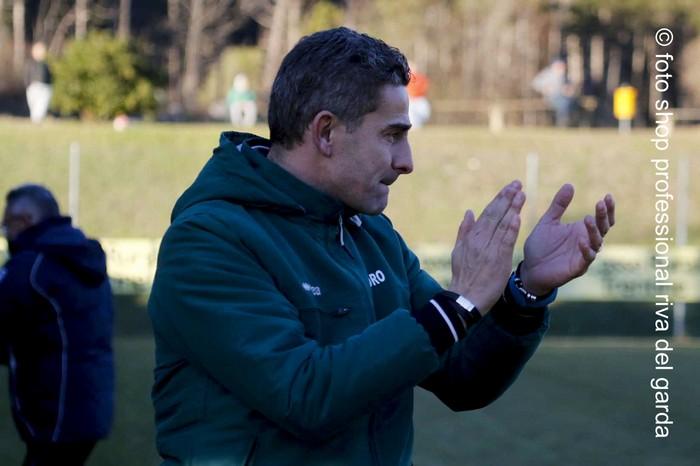 Il tecnico gialloverde Cristian Soave