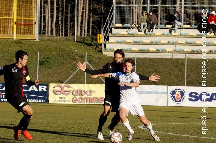 Daldosso in azione. Foto: Stefano Salvi
