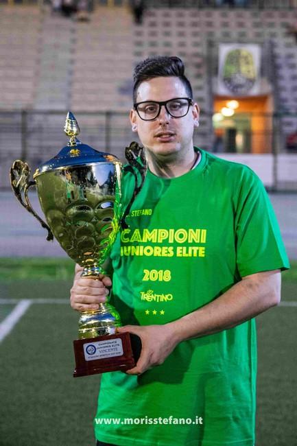 Anteprima foto La Juniores Elite festeggia la vittoria del campionato 2017/18
