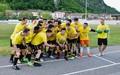 I ragazzi della Juniores Elite possono alzare in cielo la coppa del campionato