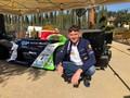 Diego con l'Osella FA30 del Team Faggioli