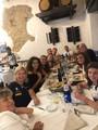 cena con il team