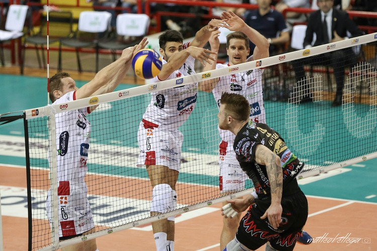 Anteprima foto Playoff (gara-2): Sir Safety Perugia - Diatec Trentino