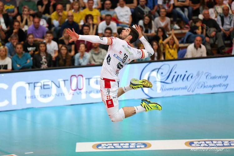 Anteprima foto Playoff (gara-5): Diatec Trentino - Sir Safety Perugia