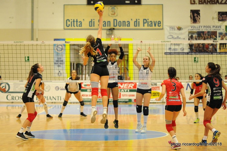 Anteprima foto Imoco Volley S.Donà - Walliance Ata Trento