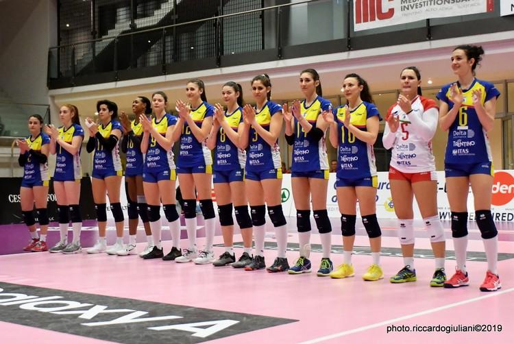 Anteprima foto Delta Informatrica Trentino - Volley Soverato