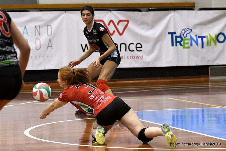 Anteprima foto Walliance Ata Trento - Bedizzole Volley