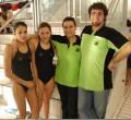 Luca Mariotti e Valentina con Letizia Giordani e Francesca Badolato