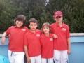 i 4 atleti della buonconsiglio nuoto