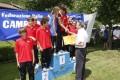 La premiazione della squadra 2