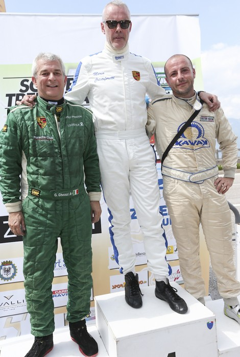 Anteprima foto podio classe GT