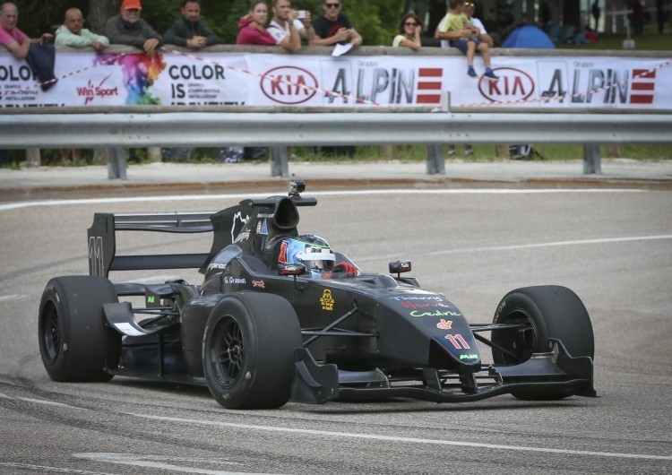 Anteprima foto Giancarlo Graziosi su Tatuus Formula Master (7°)