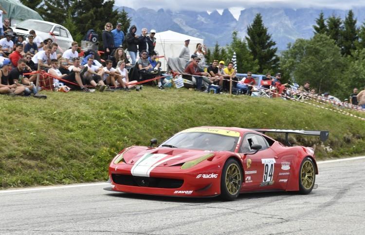 Anteprima foto Luio Peruggini su Ferrari 458 Italia GT3 (1° Gt)