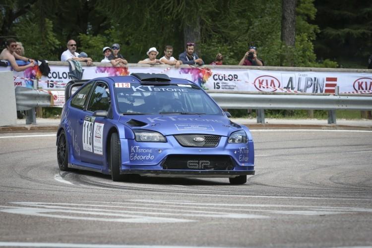 Anteprima foto Tiziano Nones su Ford Focus WRC