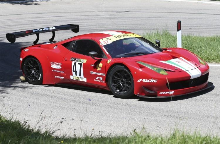 Anteprima foto Lucio Peruggini (Ferrari GT3 458)