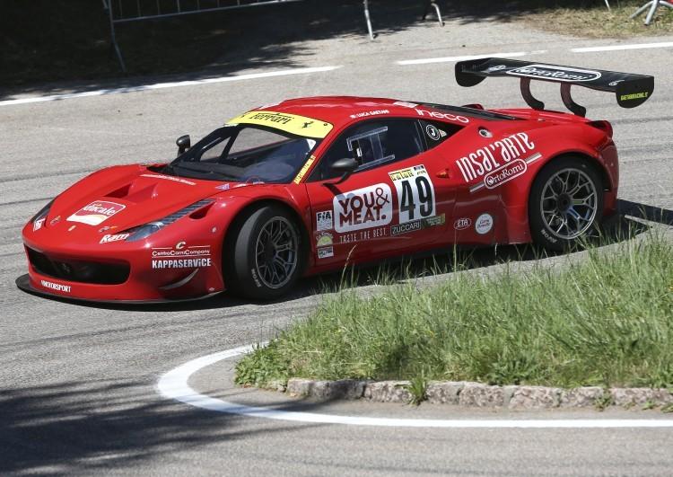 Anteprima foto Luca Gaetani (Ferrari 458 GT3)