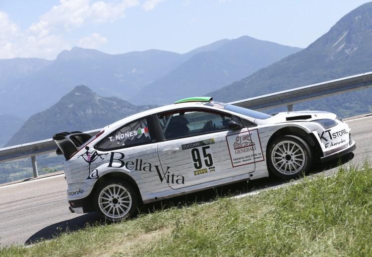 Anteprima foto Tiziano Nones (Ford Focus Wrc)