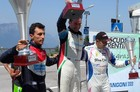 Il podio della 65ª Trento - Bondone