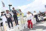 Il podio della 66ª Trento - Bondone