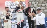 Il podio della 68ª Trento - Bondone