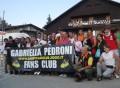 Gabriella Pedroni col suo fan club