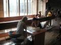 Elena Valentini gioca con una giocatrice olandese