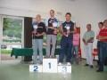 La premiazione del 1° gruppo