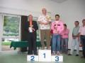 La premiazione del 3° gruppo