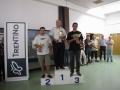 Il podio del 2° gruppo