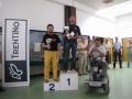 Il podio del 4° gruppo