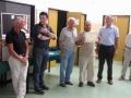 La premiazione di Michele Borghetti per il record mondiale alla cieca