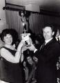 Giuseppe Manzana festeggia vincitore