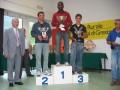Il podio del 3° gruppo