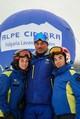 Gianluca Grigoletto con i ragazzi dello Sc Napoli