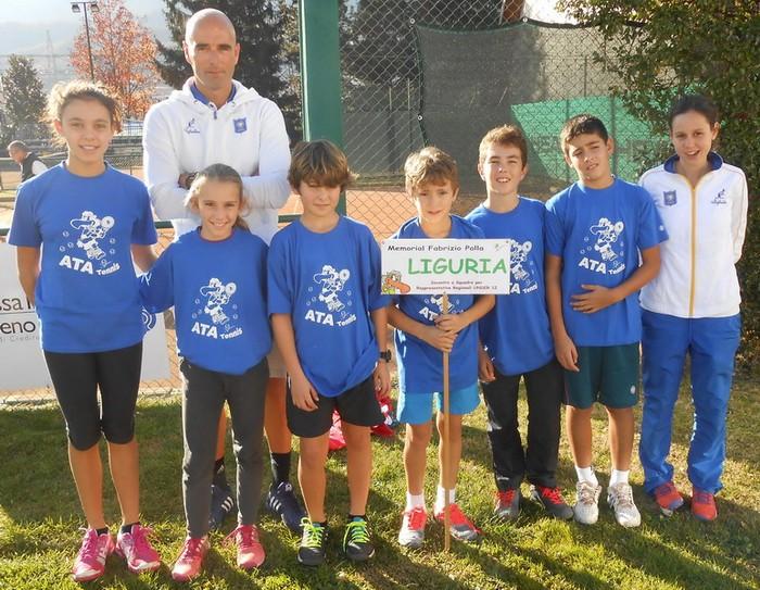 Squadra Liguria vincitrice dell'Edizione 2015