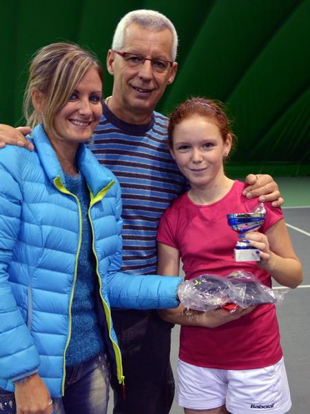 Martina con Il Maestro Luca e Yeny